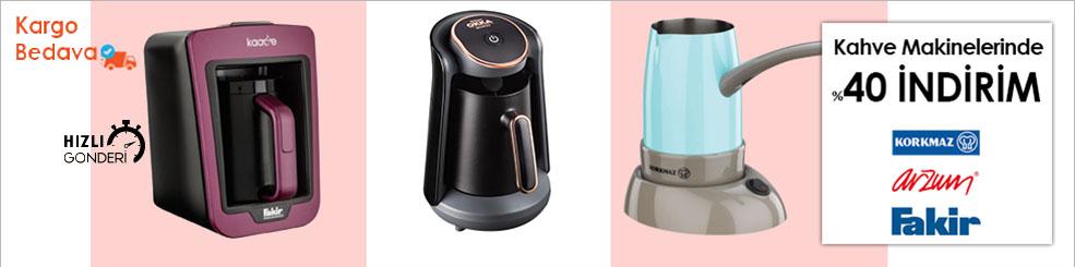 Kahve Makinelerinde %60'a varan indirimlerle