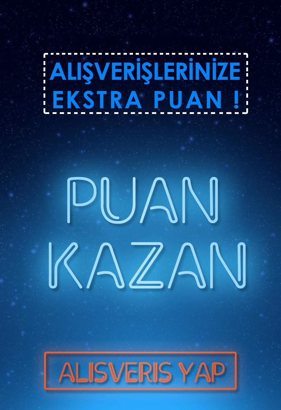 Sipariş ver, Puan Kazan.