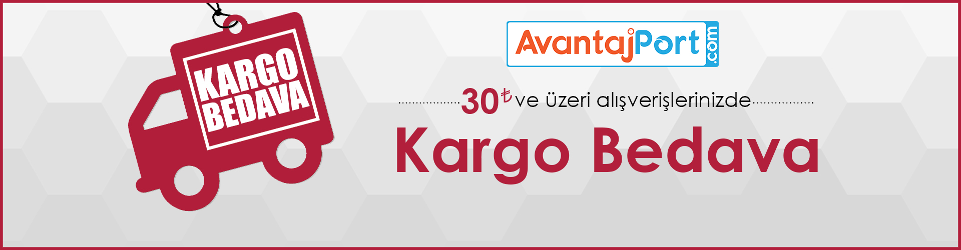 Avantajport.com Tüm Ürünlerde Ücretsiz Kargo